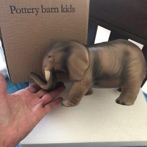 Pottery Barn kids.  Elephant Bank  Brand New